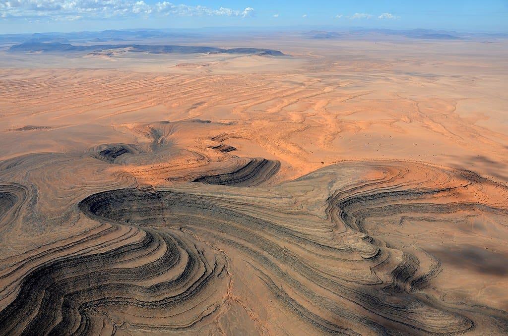 Aerial View of Sperrgebiet.