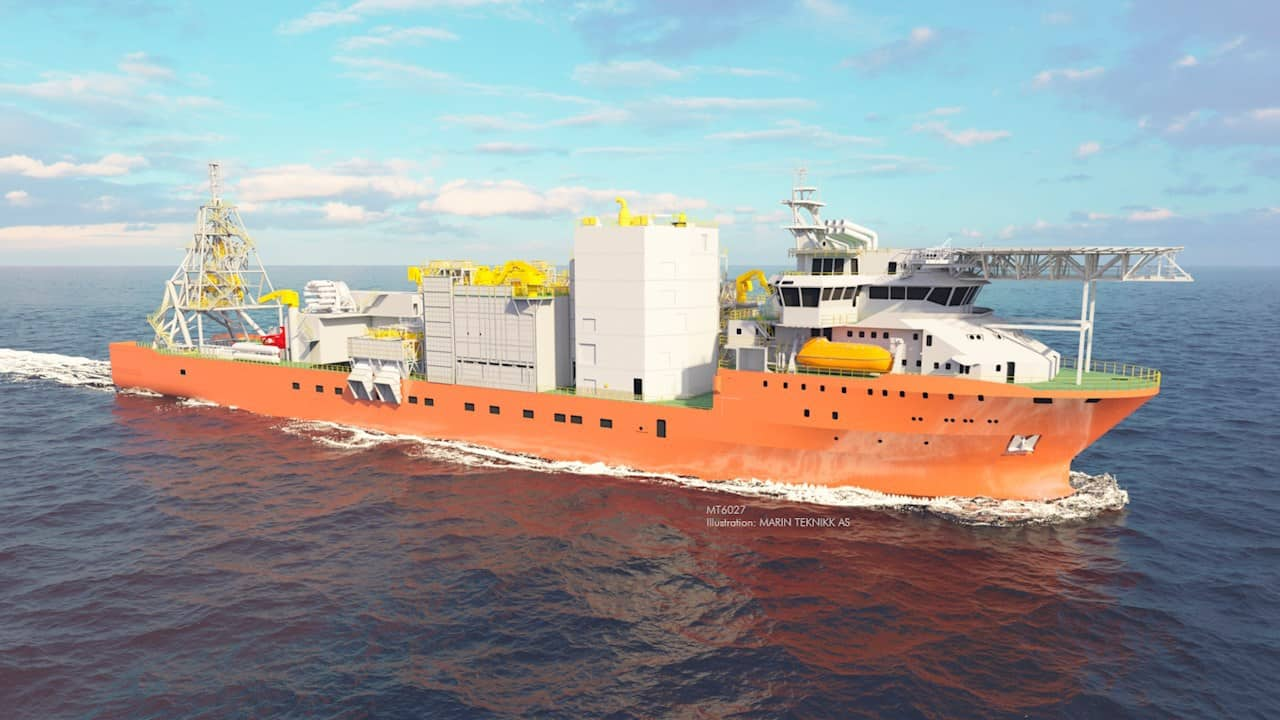 Another image of the world's largest diamond recovery vessel – Image credit – Marin Teknikk AS