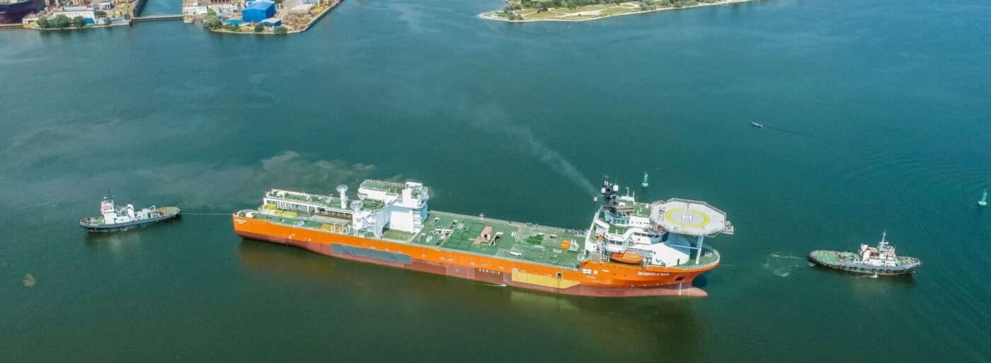 Debmarine's latest diamond recovery vessel departs Damen, Mangalia, Romania to Cape Town, South Africa